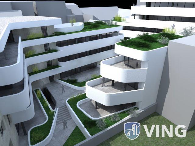 Új építésű belvárosi lakás nagy terasszal! 2.